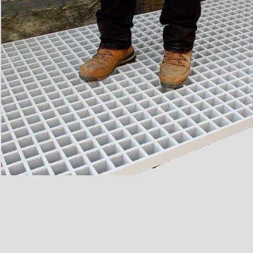 FloorSafetyOpenMesh50mmGRPGrating